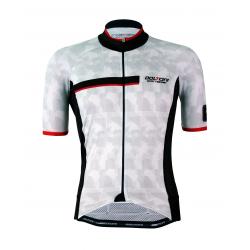 Cyclisme à manches courtes jersey PRO - LETS RIDE RED