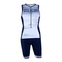 Triathlon suit PRO - NOVA white/navy