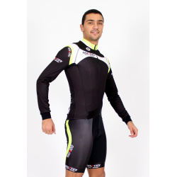 Cycling Jersey Long Sleeves fluo - MALAGA