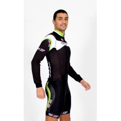 Cycling Jersey Long Sleeves green - MALAGA