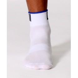 Socks Short Summer 2015 white-blue