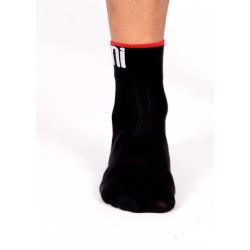 Socks Short Summer 2015 black-red