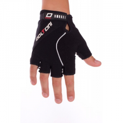 Gloves Summer Reflective black