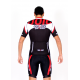 Cycling Jersey Short Sleeves red - MALAGA