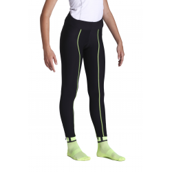 Cycling Uni Tight with FATLOG fluo with pad • BIANCA