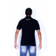 Polo t-shirt Doltcini black