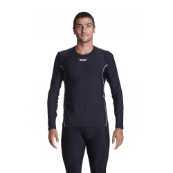 Cycling Underwear Long Sleeves - black