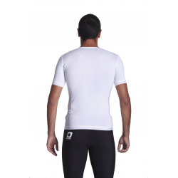 Cycling Underwear Short Sleeves - white