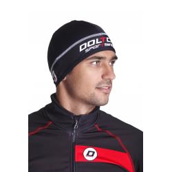 Зимна колоездачна шапка Долчини, Черен