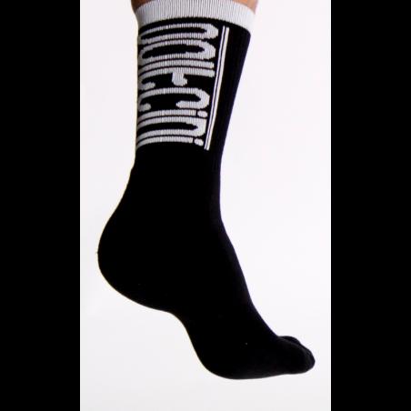Socks winter SCORPION black-white