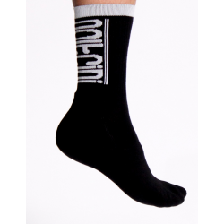Socks winter SCORPION black-white