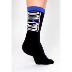 Чорапи високи зимни SCORPION black-blue