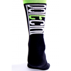 Чорапи високи зимни SCORPION black-fluo