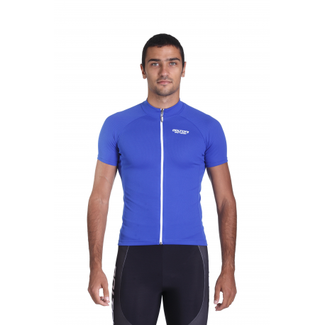 Cycling Jersey Short Sleeves Uni Blue