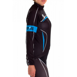 Cycling Jersey Long Sleeves Lady Blue