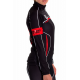 Cycling Jersey Long Sleeves Lady Red