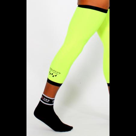 Knee Warmers waterproof fluo