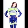 Cycling Rain Jacket Lady Navy