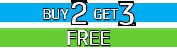 BUY 2 GET 3 FREE