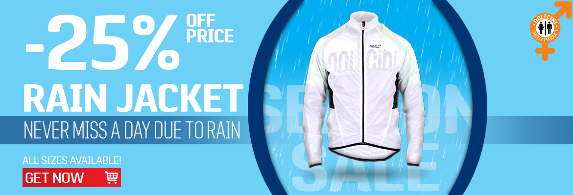 Get Rain Jacket -25% off price only now >>>